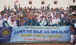 Jama'ah Haji Ar-Risalah Tahun 2018
